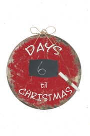 Sullivans Chalkboard Countdown Ornament - Product Mini Image