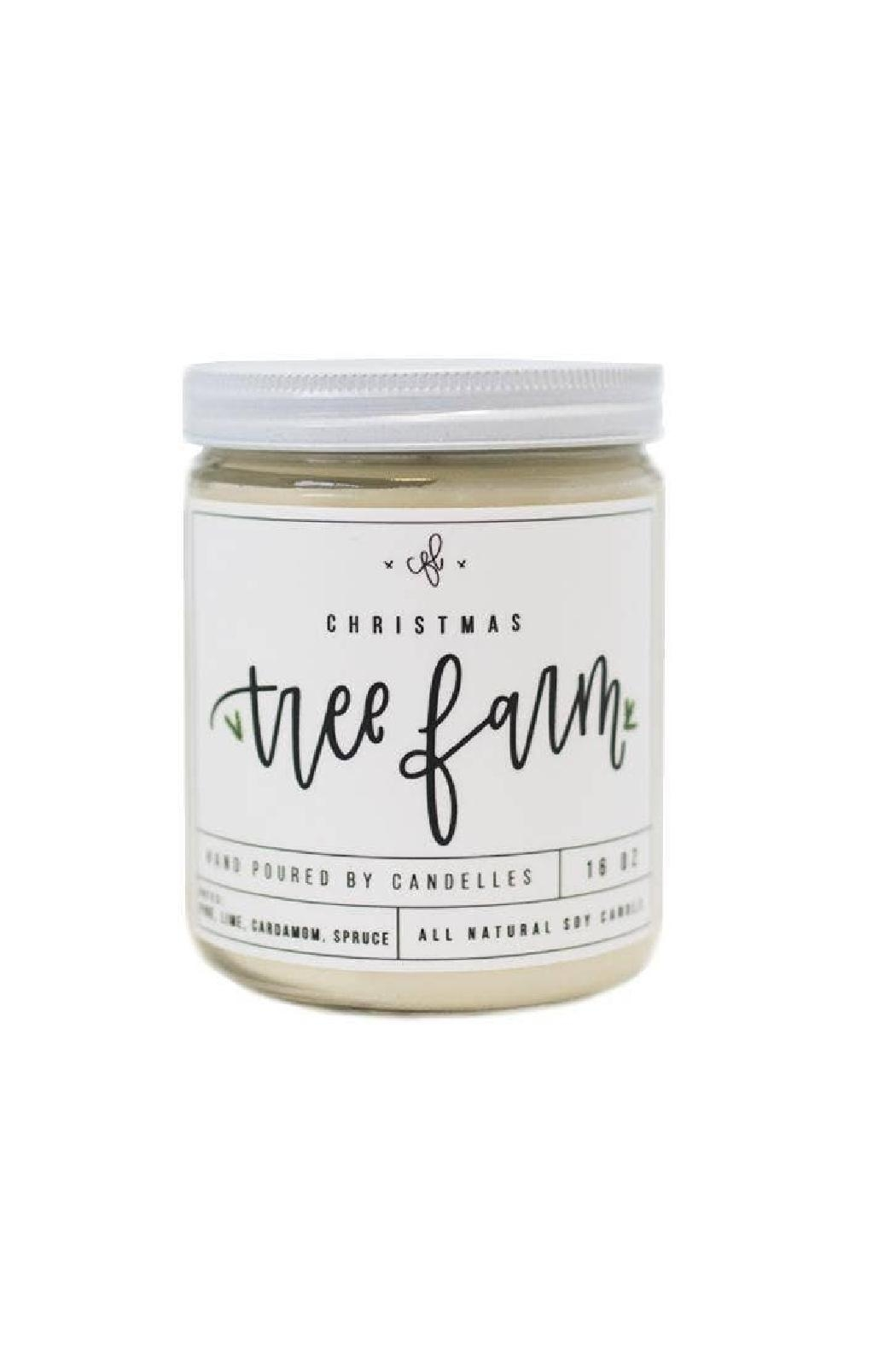 Chalkfulloflove Tree Farm Candle - Front Cropped Image