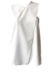 Tibi Chalky Wrap Top - Product Mini Image