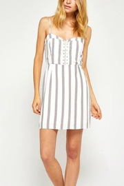 Gentle Fawn Chalsie Lace-Up Dress - Product Mini Image