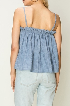 fashion on earth Chambray Crop Cami - Alternate List Image