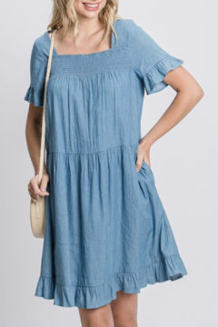 GeeGee Chambray Cutie dress - Product List Image
