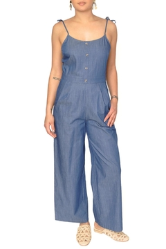 EVIDNT Chambray Denim Jumpsuit - Product List Image