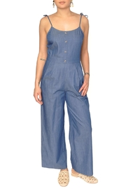 EVIDNT Chambray Denim Jumpsuit - Product Mini Image