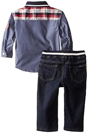 Nautica Chambray Denim Set - Front full body