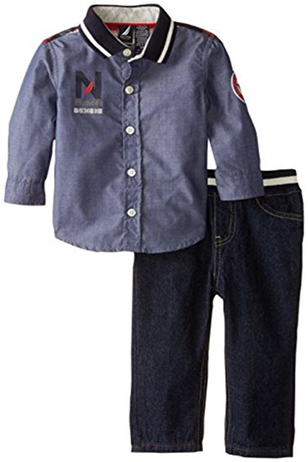 Nautica Chambray Denim Set - Main Image