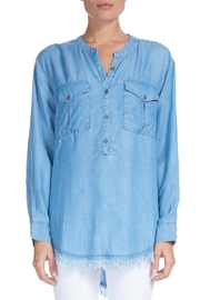 Elan Chambray Fringe-Edge Popover - Product Mini Image
