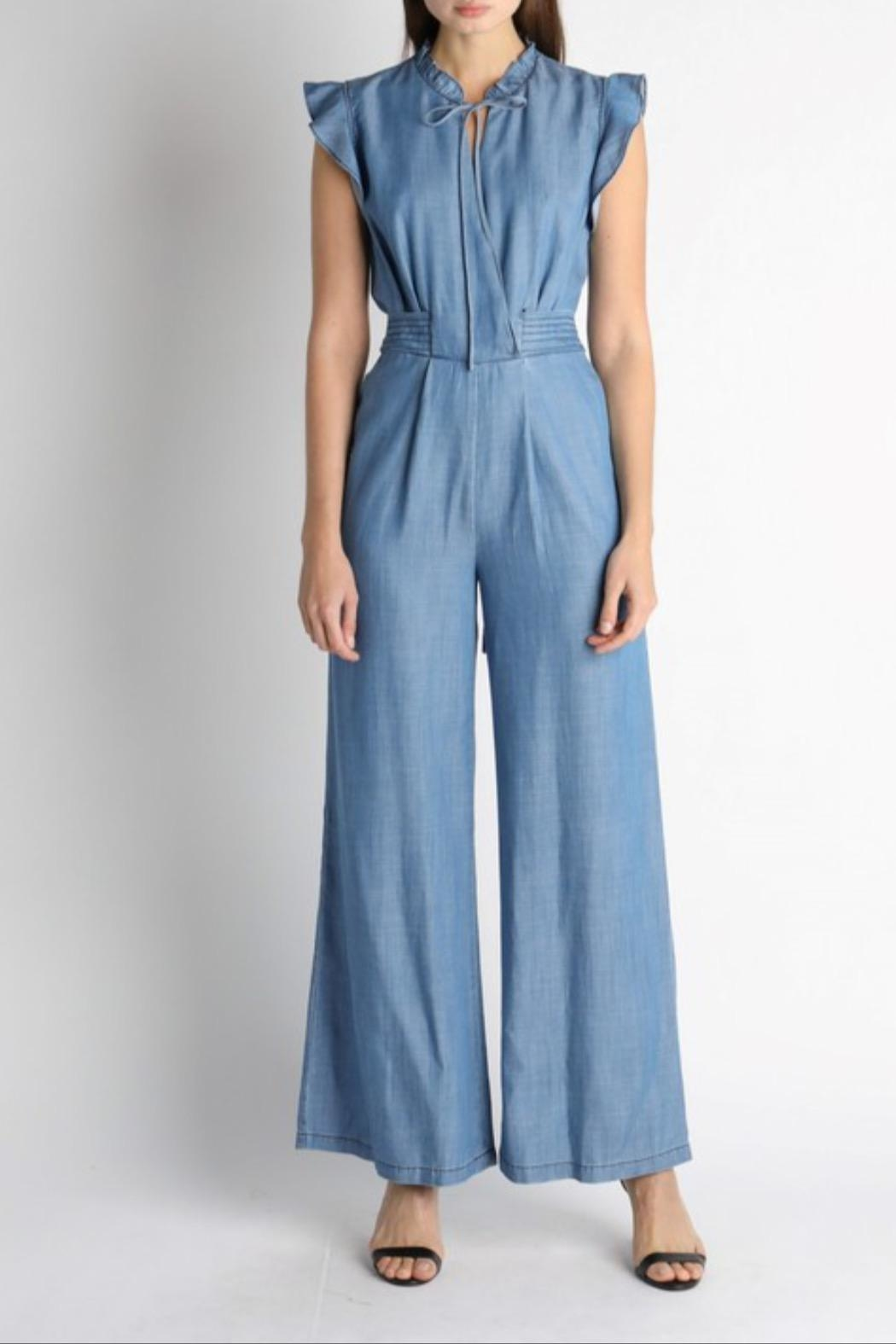 Current Air Chambray Jumpsuit - Main Image