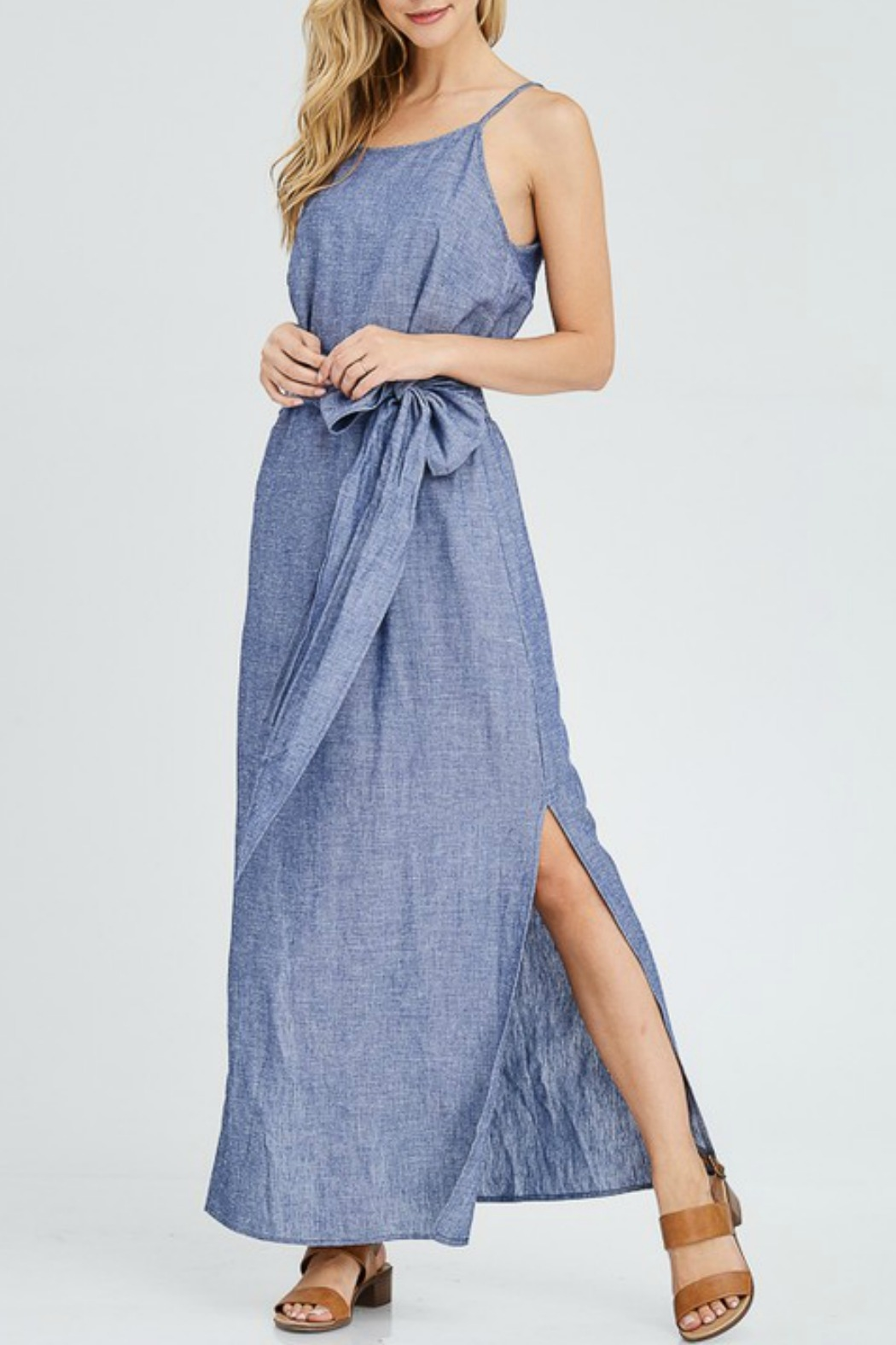 38c3066ca4 Jolie Chambray Maxi Dress from Louisiana by Bella Bella - Metairie ...