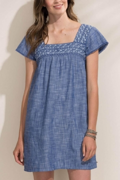 Hatley Chambray Peasant Dress - Alternate List Image