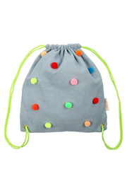Meri Meri Chambray Pompom Backpack - Product Mini Image
