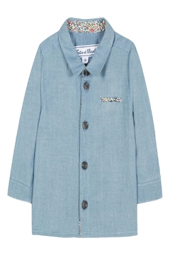 Tartine et Chocolat Chambray Print Shirt - Product List Image