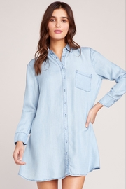 BB Dakota Chambray Shirt Dress - Product Mini Image