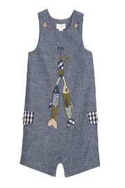 Mud Pie Chambray Shortall - Product Mini Image