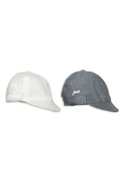 First Chambray Sun Hat - Front full body