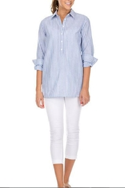 Jade Chambray Tunic Shirt - Product Mini Image