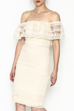 Shoptiques Product: Cream Lace Dress