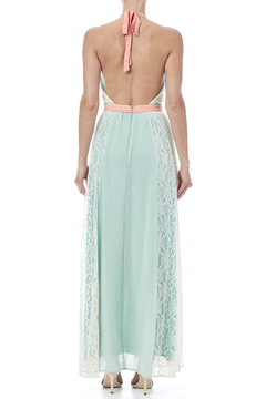 Champagne & Strawberry Mint Maxi Dress - Alternate List Image