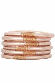 BuDhaGirl Champagne All Weather Bangles - Front cropped