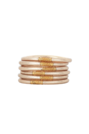 BuDhaGirl CHAMPAGNE ALL WEATHER SERENITY BRACELETS-SMALL - Product Mini Image