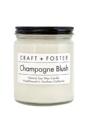 Craft and Foster Champagne Blush Candle - Product Mini Image