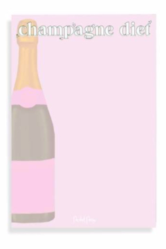 Packed Party Champagne Diet Notepad - Product List Image