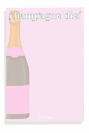Packed Party Champagne Diet Notepad - Product Mini Image
