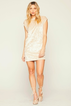 Knot Sisters Champagne Disco Dress - Alternate List Image