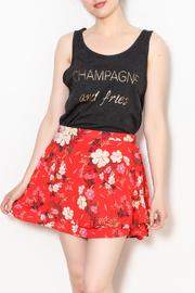 K&K Champagne & Fries Tank - Front cropped
