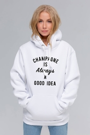 Toss Designs Champagne Is Always A Good Idea Hoodie - Product Mini Image