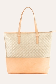 The Birds Nest MARKET TOTE-CANDY CHAMPAGNE - Front cropped