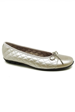 Shoptiques Product: Champagne Quilted Flat