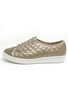 Shoptiques Product: Champagne Quilted Sneaker