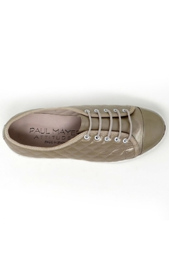 Paul Mayer Champagne Quilted Sneaker - Alternate List Image