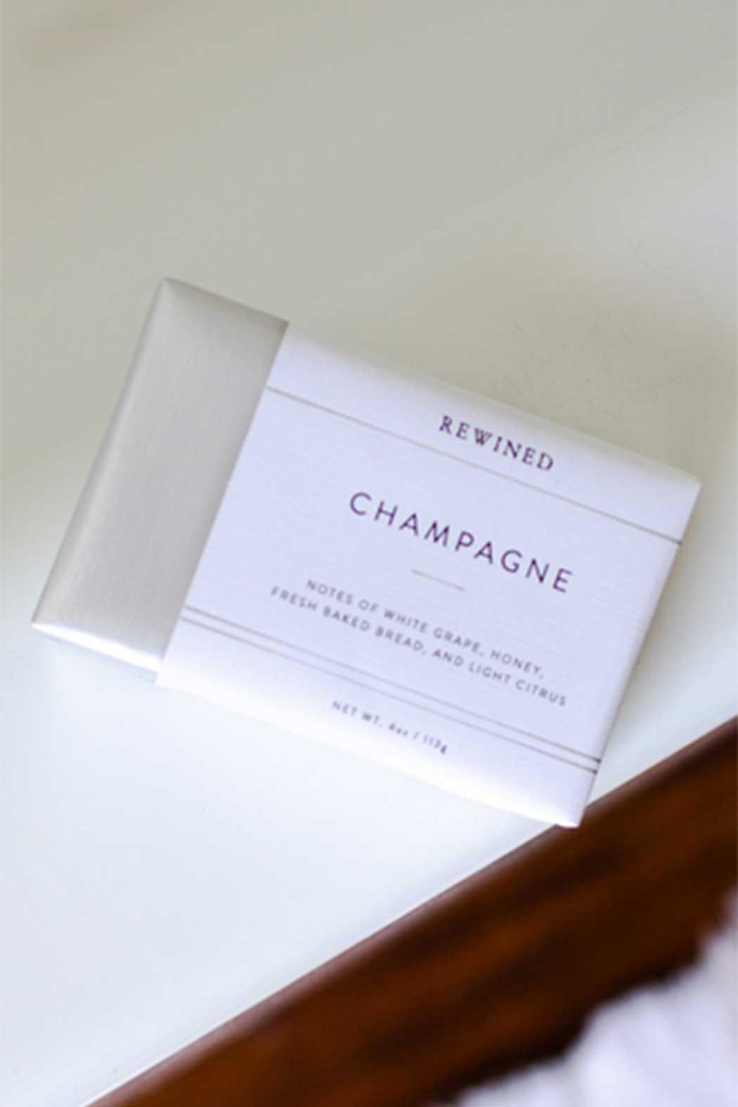 Rewined Champagne Soap - Main Image