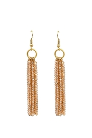 Wild Lilies Jewelry  Champagne Tassel Earrings - Product Mini Image