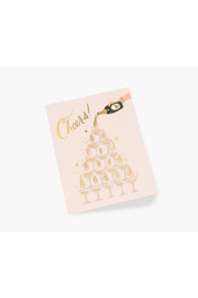 Rifle Paper Co.  Champagne Tower Cheers - Product Mini Image