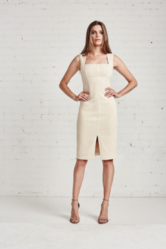 Bailey 44 502-1176 - Champagne Viper Dress - Alternate List Image