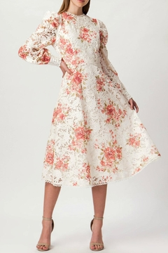 Champagne & Strawberry Floral Vintage Ivory - Product List Image