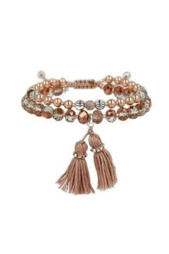 Chan Luu Adjustable Tassel Bracelet - Alternate List Image