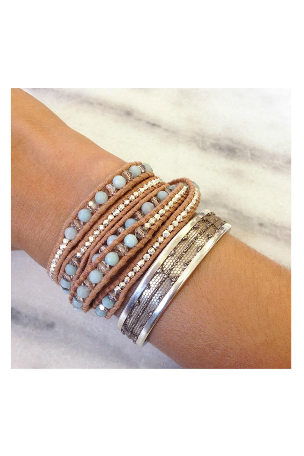 Chan Luu Amazonite Wrap Bracelet - Side Cropped Image