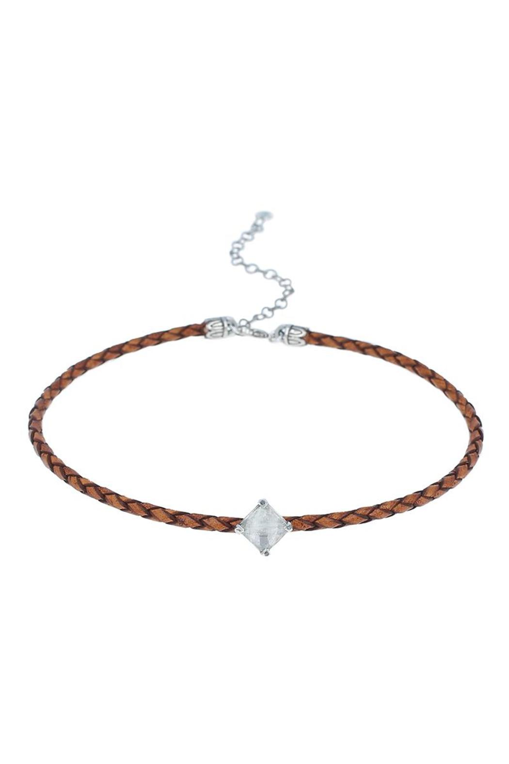 Chan Luu Brown Moonstone Choker - Main Image