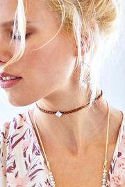 Chan Luu Brown Moonstone Choker - Back cropped