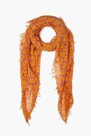 Chan Luu Floral Cashmere Scarf - Product Mini Image