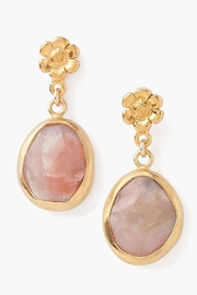Chan Luu Flower Opal Earrings - Product Mini Image
