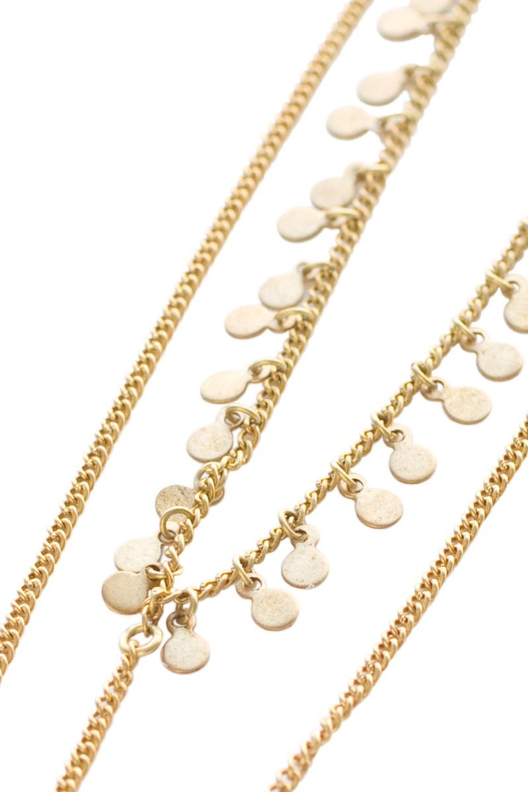 Chan Luu Gold Coin Bodychain - Front Full Image