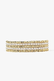 Chan Luu Gold-Mix Wrap Bracelet - Product Mini Image