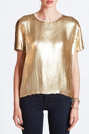 Chan Luu Gold Sequin Top - Product Mini Image