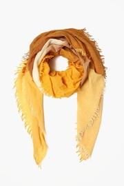 Chan Luu Gold Wool Scarf - Product Mini Image