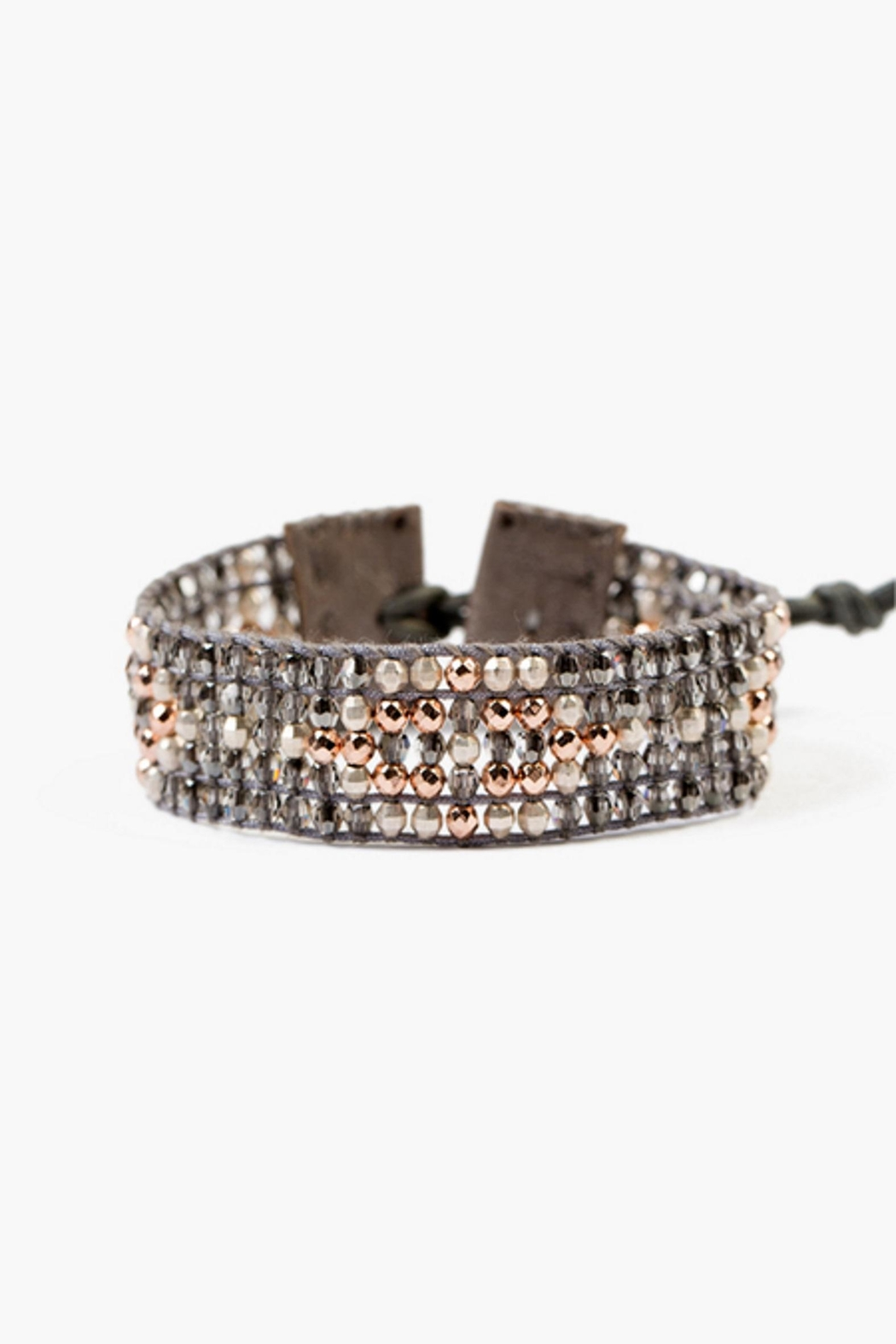 Chan Luu Hematine Beaded Bracelet - Front Cropped Image